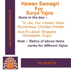 Hawan Samagri For Surya Yajna